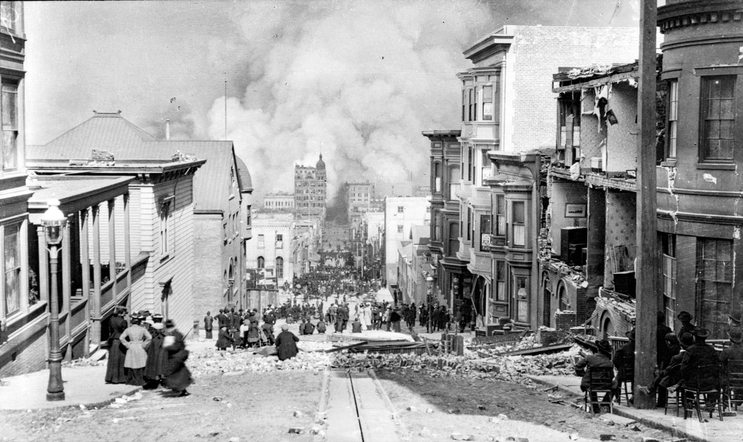 grote aardbeving van 1906